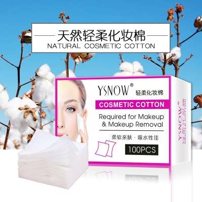 High Quality  Natural Facial Cotton Pads For Sale