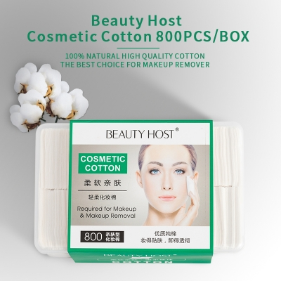 Beauty Host Cotton Pads Face Make Up Remover