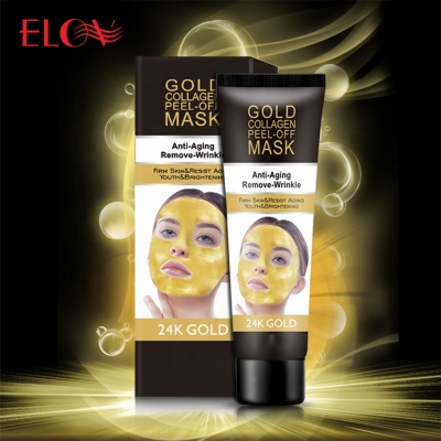 New Arrival Peeling off 24K Gold Collagen Facial Mask For Anti aging