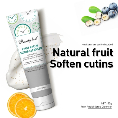 Beauty Host Fruit facial scrub Cleanser